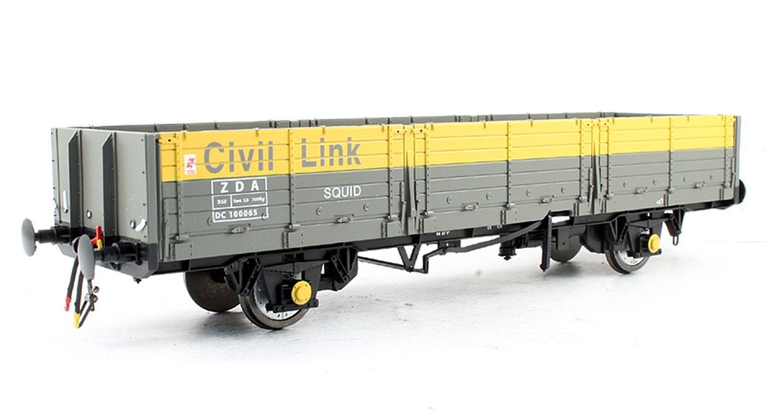 OAA Open Wagon Civil Link Departmental ZDA Grey/Yellow