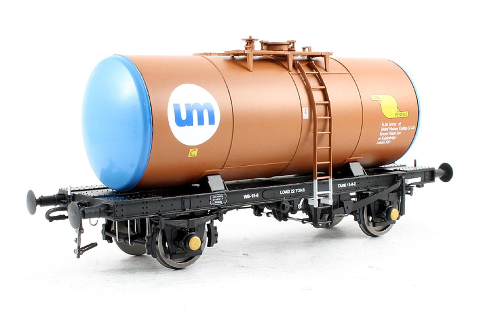 Class B Tank Wagon - United Molasses Brown