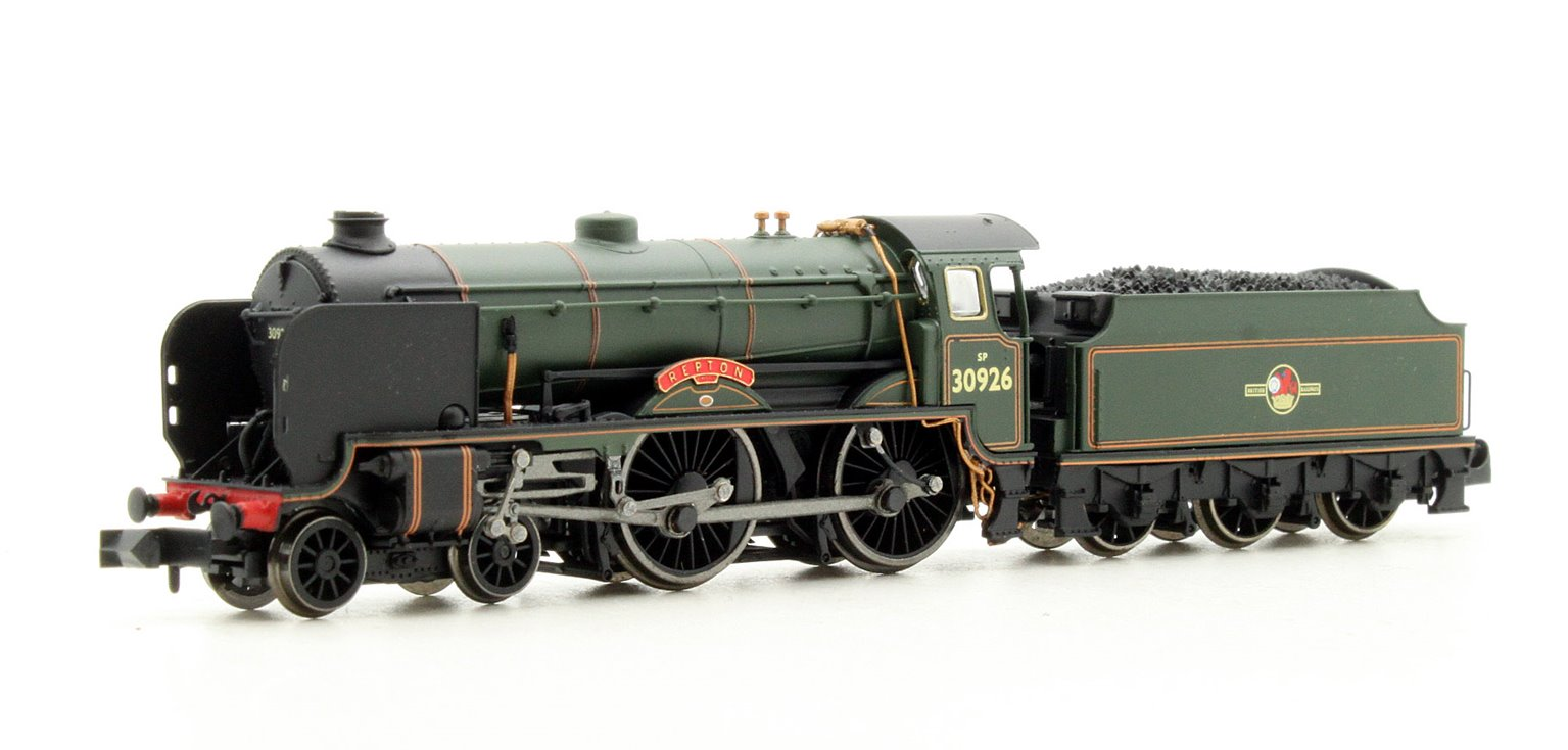 Schools Class 'Repton' #30926 BR Lined Green Late Tender Crest