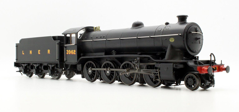 LNER Class 02/4 'Tango' 2-8-0 #3962 LNER Black - Flush Tender