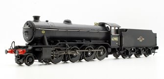 Ex-LNER Class 02/4 'Tango' 2-8-0 #63982 BR Black with Late Crest - Flush Tender
