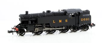 Fairburn 2-6-4 Tank #2691 LMS Black Locomotive