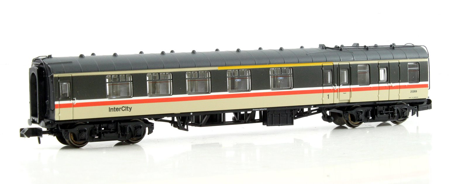 BR Mk1 BCK Brake Corridor Composite Intercity