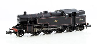 Fairburn 2-6-4 Tank #42073 BR Black Late Crest Locomotive