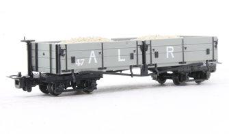 Open Bogie Wagon Ashover L. R. Grey