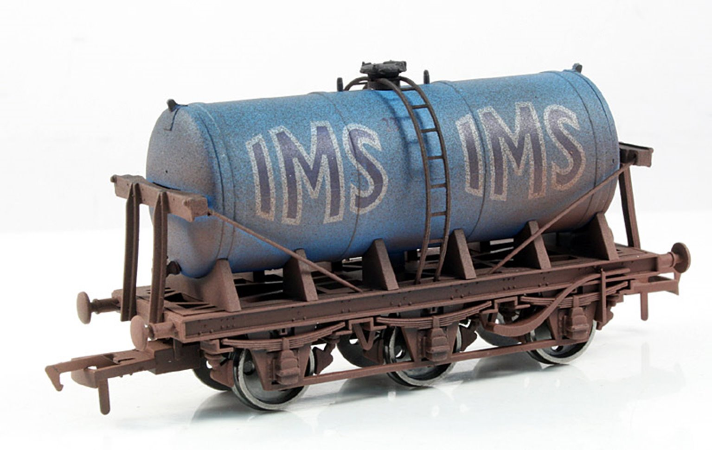 IMS 6 Wheel Milk Tanker - Weathered