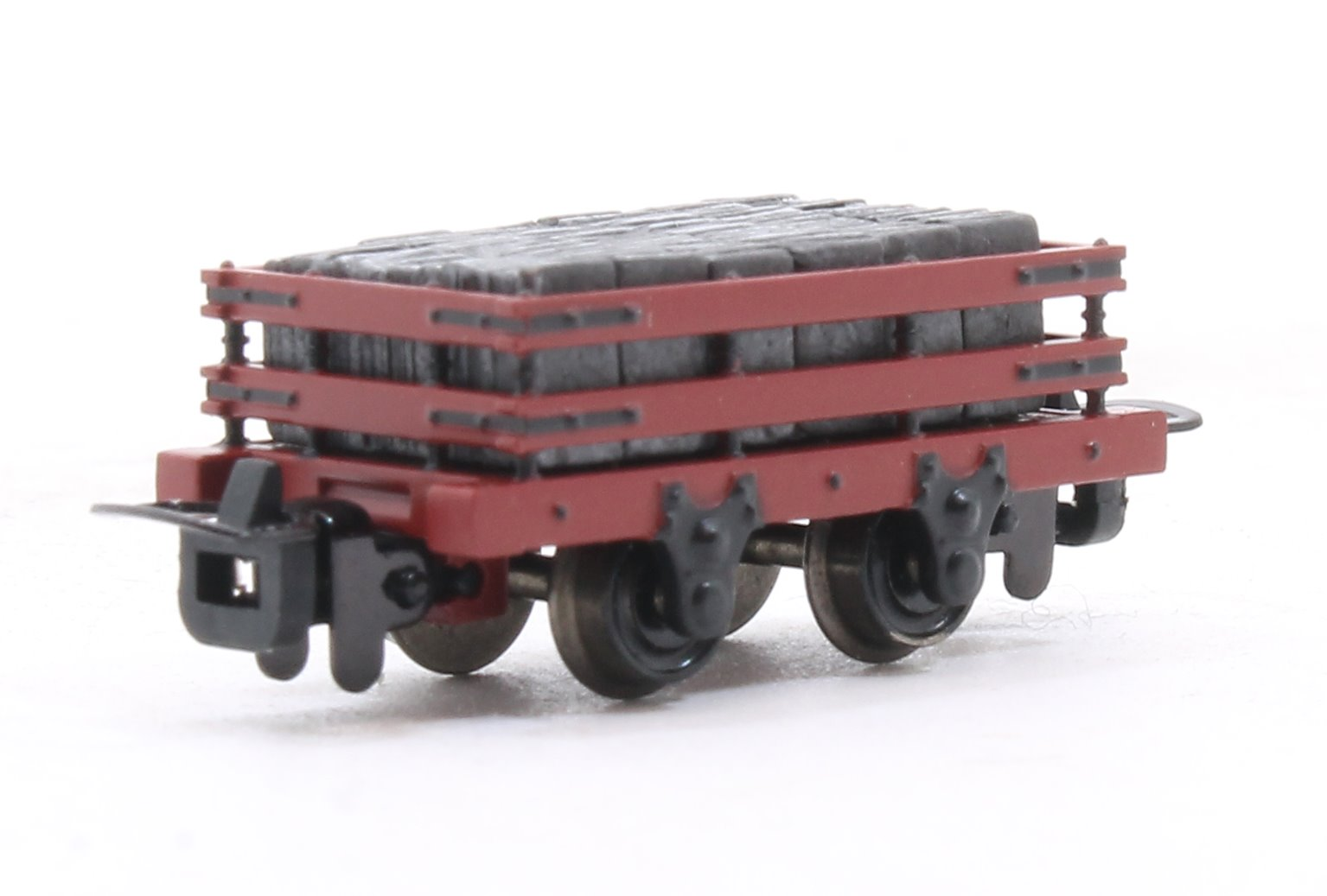 Slate Wagons 3-Pack Red With Slate Load