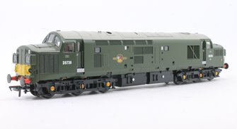 Class 37/0 No. D6739 BR Green Small Yellow Panel