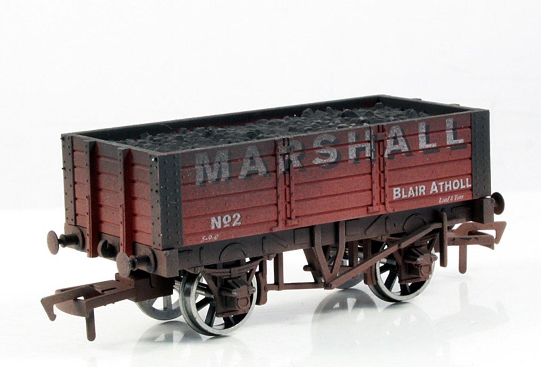 Marshall 5 Plank Wagon 9ft Wheelbase - Weathered