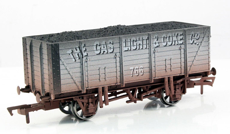 Gas, Light & Coke 9 Plank Wagon - Weathered