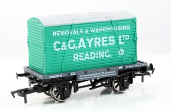 C & G Ayres Conflat Wagon & Container