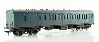 BR Mk1 Suburban Second Brake Blue - Weathered