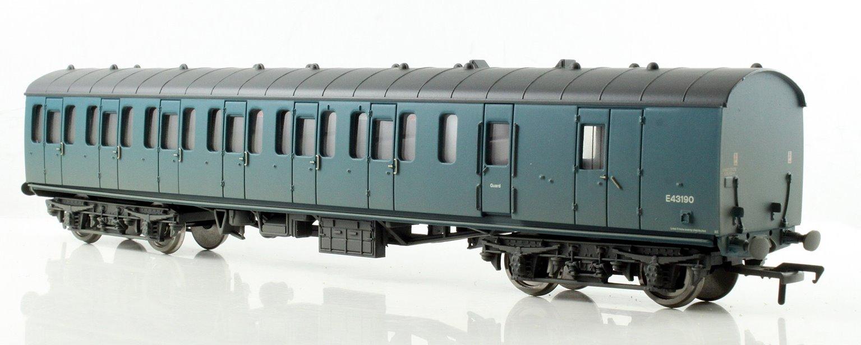BR Mk1 Suburban Second Brake Blue - Weathered
