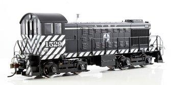 ALCO S4 Diesel ATSF #1529 (Zebra Stripe + DCC Sound)