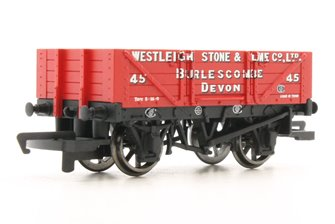 4 Plank Wagon 'Westleigh Stone & Lime Co. Ltd'