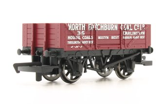 4 Plank Wagon 'North Bitchburn Coal Co. Ltd'