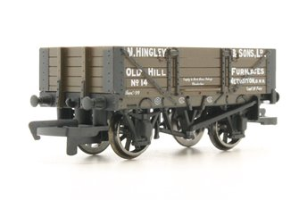 4 Plank Wagon 'Hingley & Sons Ltd'
