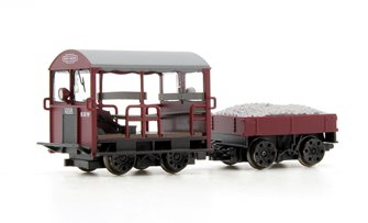 Wickham Type 27 Trolley Car BR Maroon