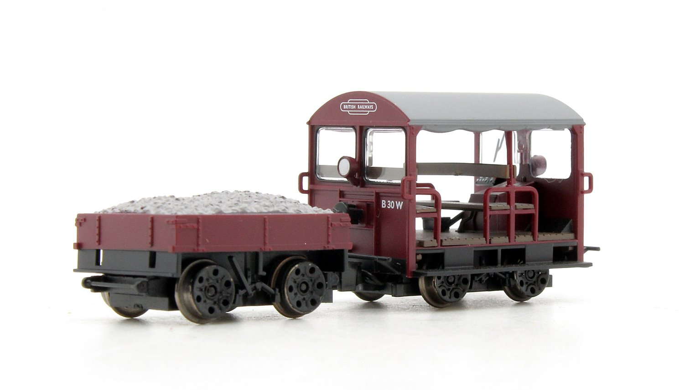 Wickham Type 27 Trolley Car BR Maroon