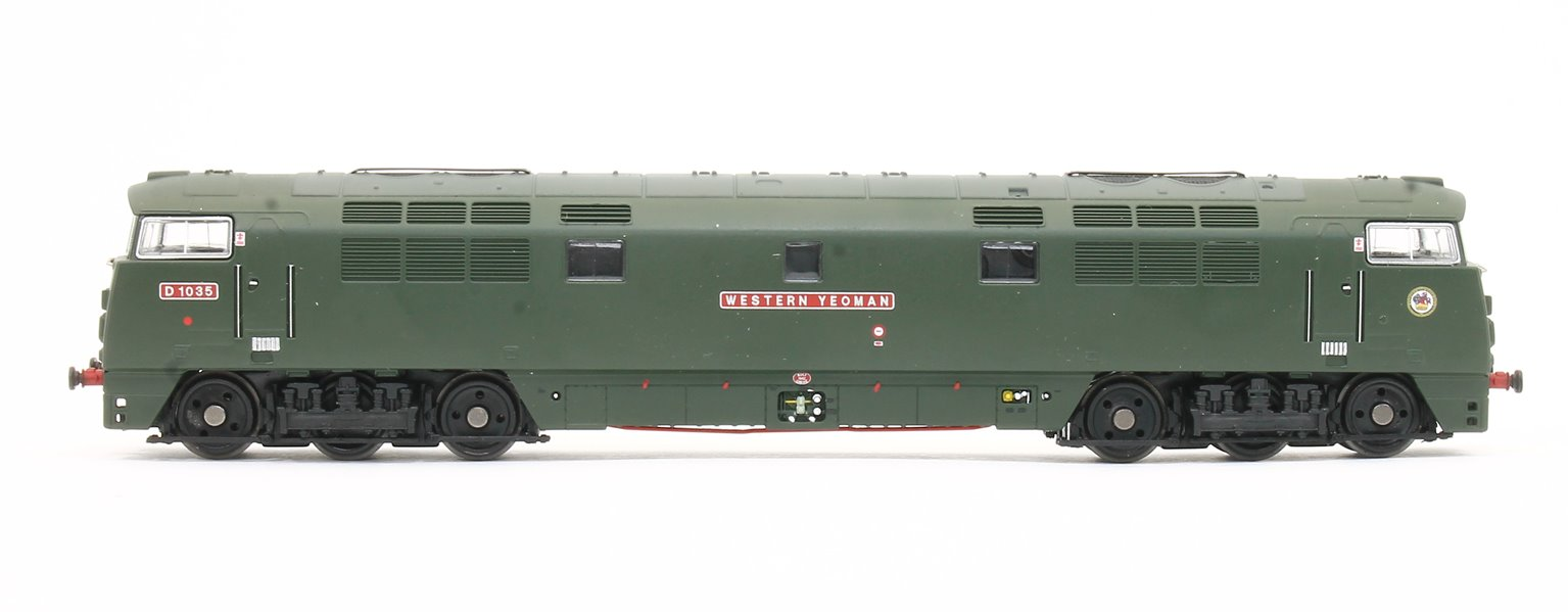 Western Yeoman Class 52 BR Green SYP Diesel Locomotive No.D1035 - DCC Fitted