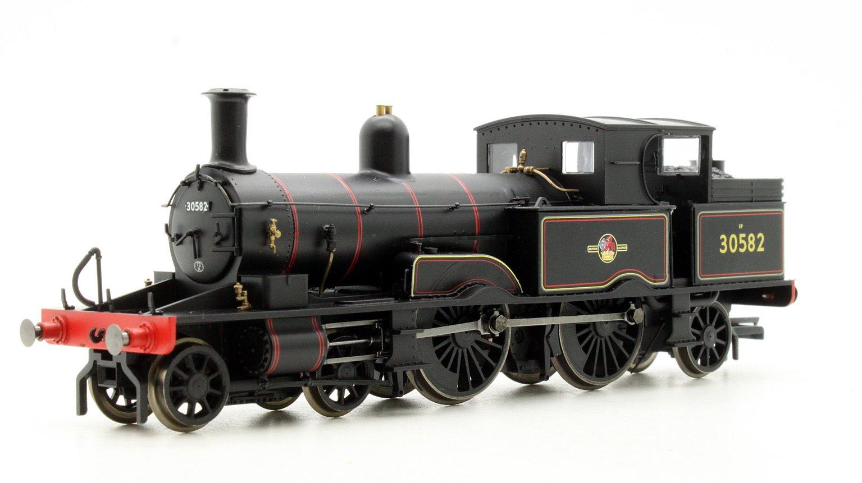 BR Black (Late) 4-4-2T Adams Radial 415 Class Tank Locomotive 30582