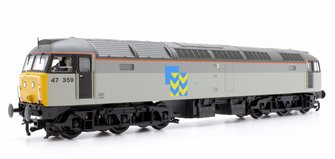 Class 47 359 BR Railfreight Grey (Metal Sector) Diesel Locomotive