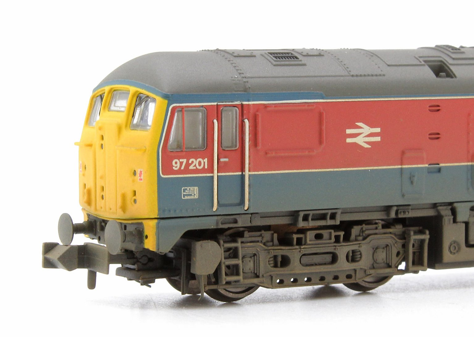 Class 24 97201 Experimental RTC Livery Weathered Locomotive