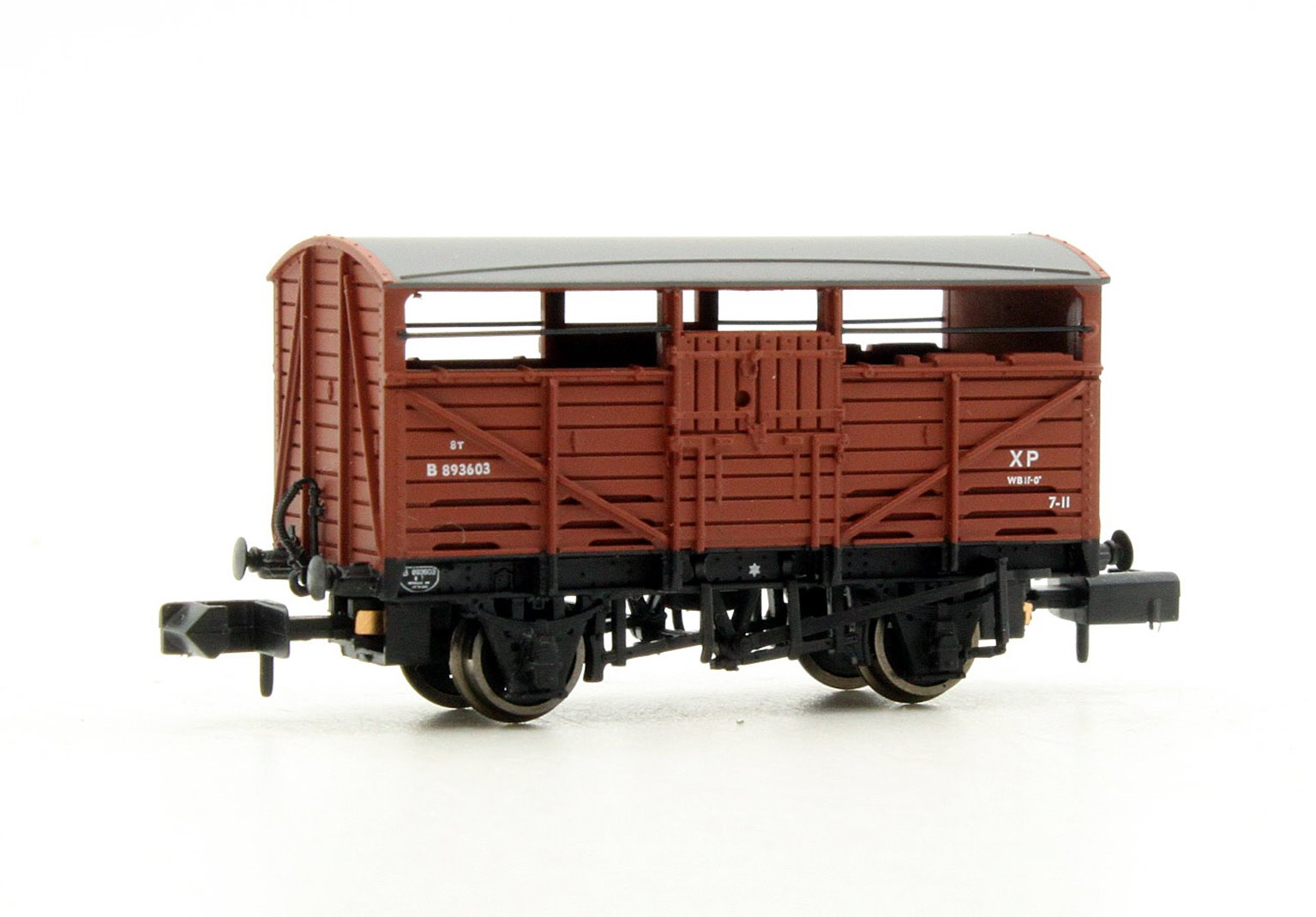 8 Ton Cattle Wagon BR Bauxite (Early)