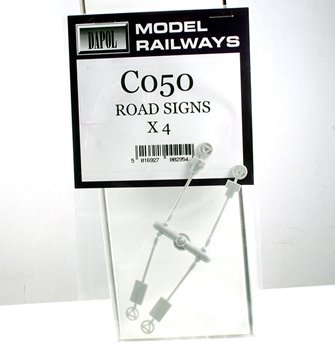 Roads Signs (4 per pack)