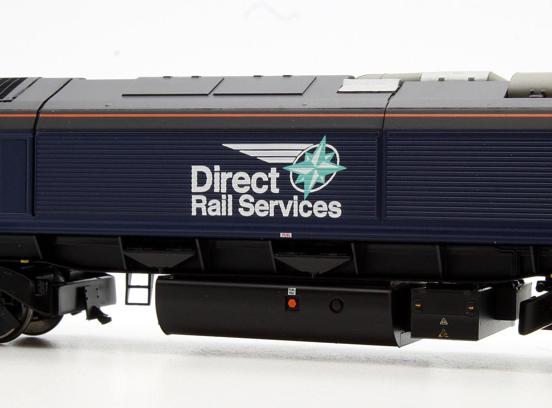 Class 66 66434 DRS Plain Blue Compass Diesel Locomotive
