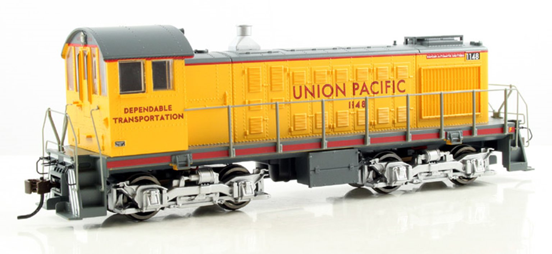 Union Pacific (Dependable Transportation) Alco S-2 Diesel Switcher Locomotive with DCC sound