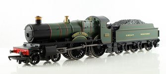 RailRoad GWR 'County Of Devon' County Class Locomotive 3835