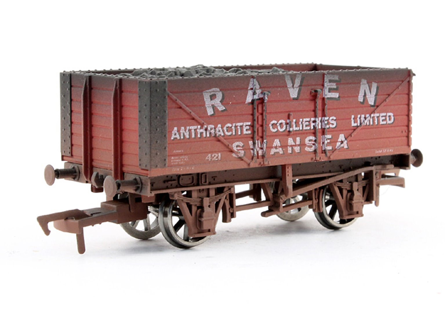 Dapol 7 Plank Raven -Weathered