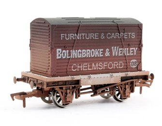 Dapol Conflat & Container Bolingbroke - weathered