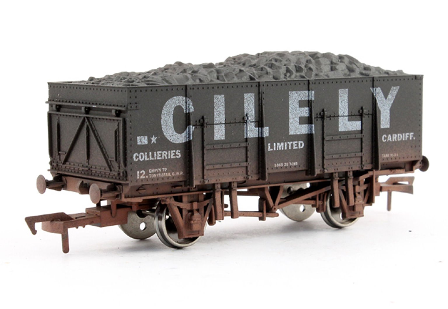 Dapol 20T Steel Mineral Cilely - weathered