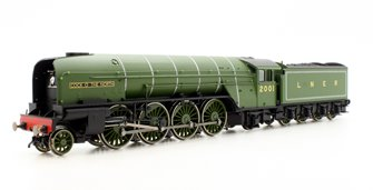 LNER Green 'Cock O' The North' P2 Class 2-8-2 Locomotive #2001