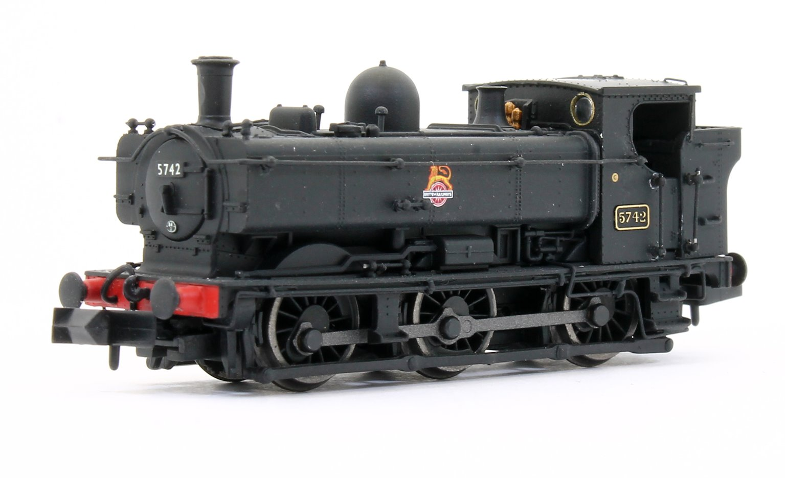 Pannier 5742 BR Black Early Crest Early Cab