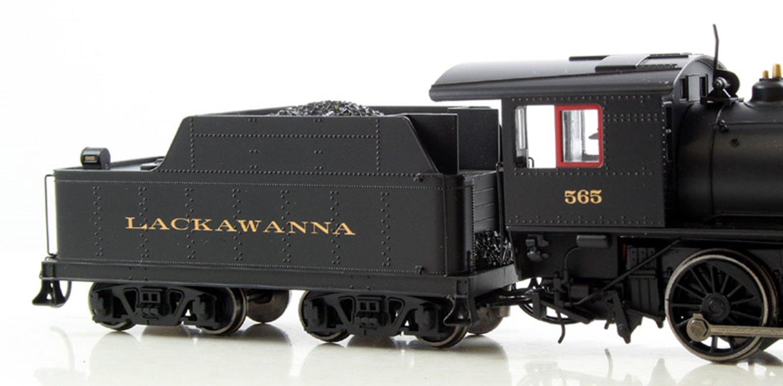 Lackawanna Alco 2-6-0 Steam Locomotive #565 with DCC Sound