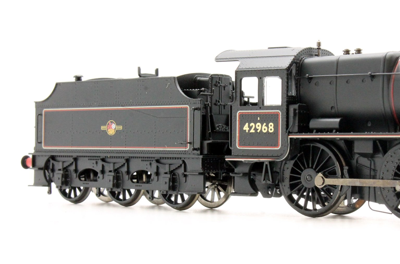 LMS Stanier Mogul Class #42968 BR Lined Black Late Crest (Preserved)