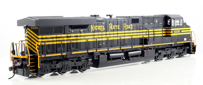 Nickel Plate Road GE ES-44AC Diesel Locomotive #8100 - DCC Sound Equipped