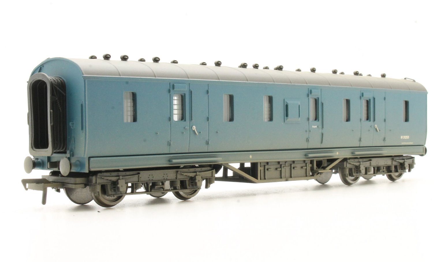 50ft. Ex-LMS PIII Parcels Van BR Blue Weathered