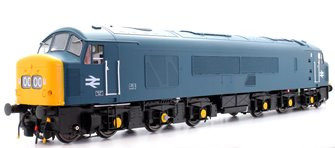 Heljan 4503 Class 45 - BR Blue Yellow Ends and Black Bufferbeams