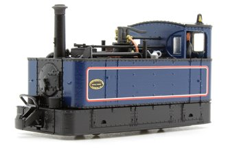 FOURDEES LIMITED OO9 SCALE 41-107 'DENNIS' BLUE GLYN VALLEY TRAMWAY LOCO