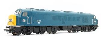 Class 46 Centre Headcode 46020 BR Blue - DCC Sound
