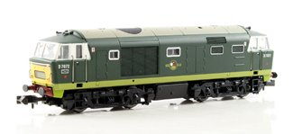 Class 35 Hymek #D7072 Two tone Green SYP Dummy car