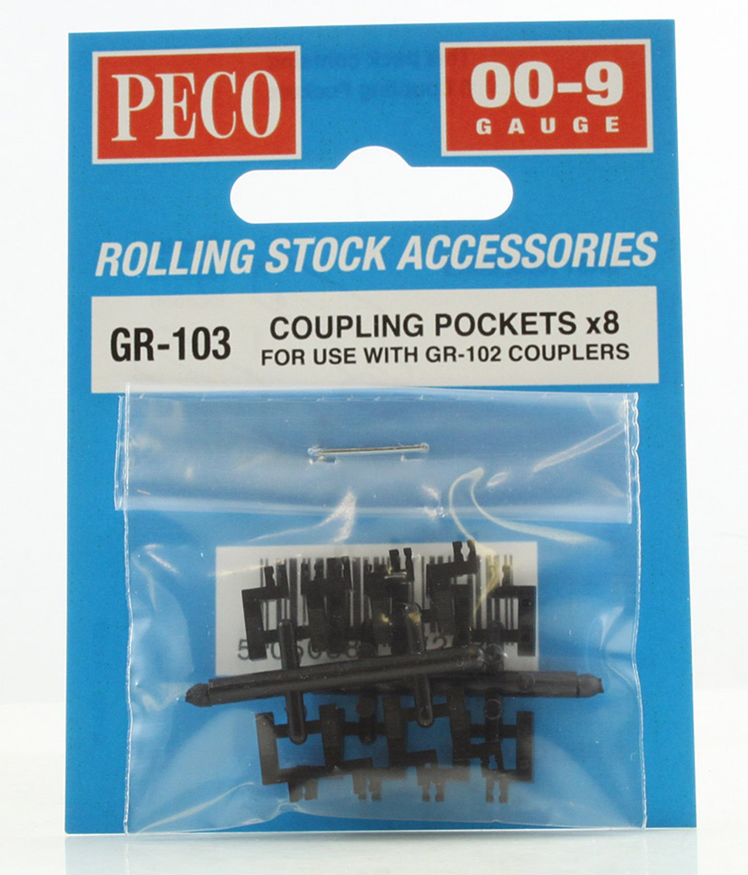 Coupling Pockets x8 (For use with GR-102 Couplers)