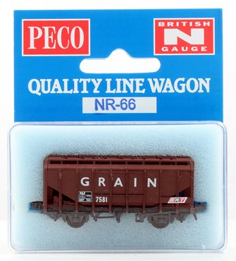 Brown Grain Wagon