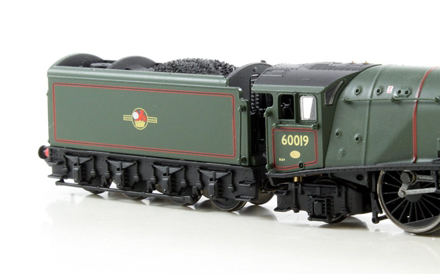 Class A4 'Bittern' #60019 BR Green Double Chimney Late Crest