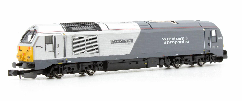 Wrexham & Shropshire Class 67 014 Thomas Telford