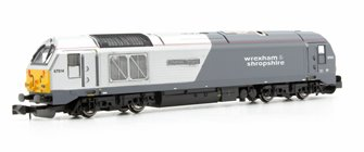 Wrexham & Shropshire Cl.67 014 Thomas Telford (DCC-Fitted)